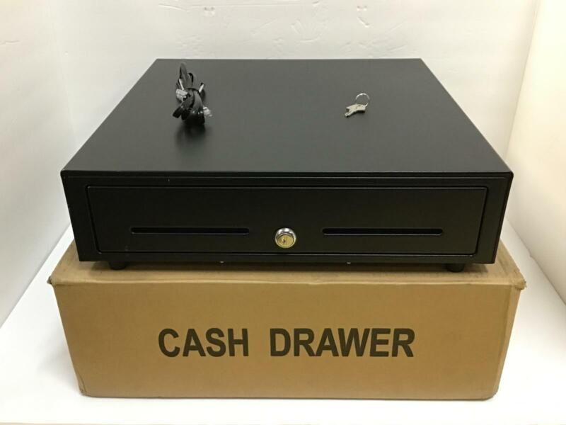 "Star Cash Drawer Cd3-1616bk58-s2 16"" X 16"" 5 Bill 8 Coin 2 Media 37965600 Used"
