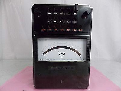 Yokogawa 2012 Portable Dc Ammeter Voltmeter