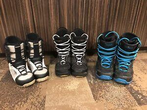 Snowboard boots : 40$ each OBO