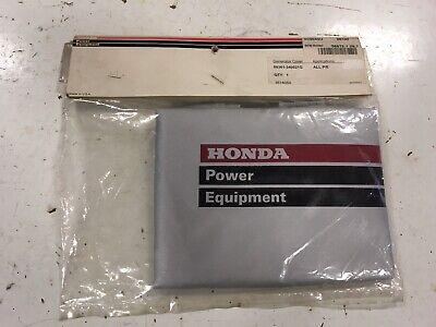 New Oem Honda Power Equpment Eu1000i Inverter Generator Cover 08361-340021g