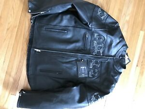 Men's leather jacket size 3x