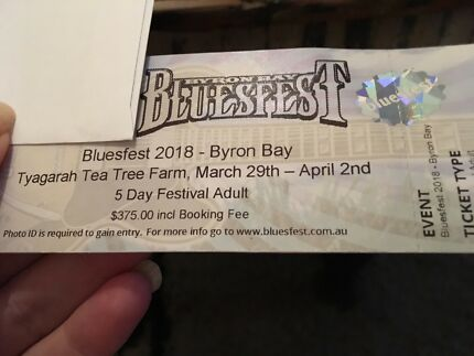 Bluesfest Tickets Cost Price 5 day