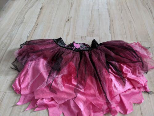 Rubies Monster High Halloween Kids Costume Skirt Bat Ruffle Sparkle Size 10 ? La