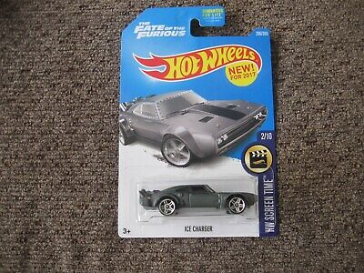 """The Fate of the Furious Dom's """"Ice Charger"""" Hot Wheels"""