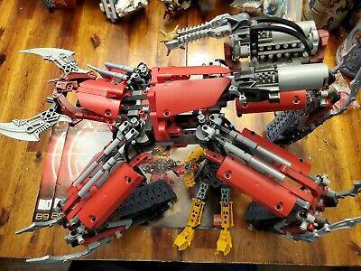 RARE Lego 8996 Lego Bionicle SKOPIO XV-1 100% complete 2 manuals