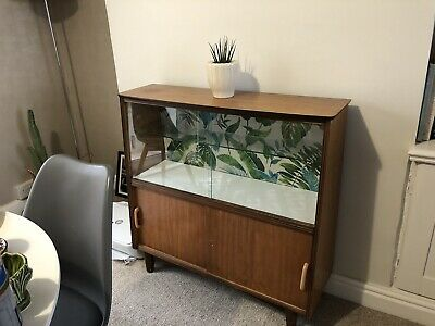 Vintage Drinks Display Cabinet
