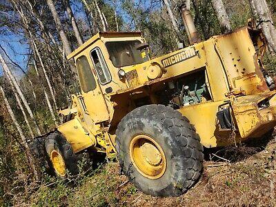 1993 Michigan Volvo L90 Wheel Loader Running Rebuilt Motor