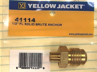 Yellow Jacket Brute-ii Titan Manifold Fitting 41114 12 Male Flare X 18 Npt