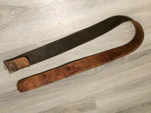 Imperial german m1915 belt with leather tab no buckle