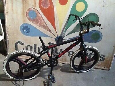 Black. Mid School BMX DK SOB decals