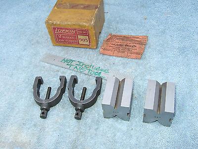 Lufkin Vintage V-block Set Matched Toolmaker Vintage 278 750 V-blocks Here Also