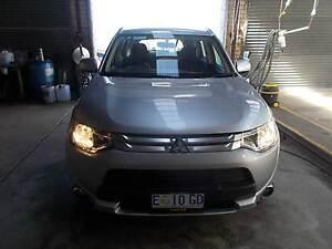 Mitsubishi Outlander 12/2014 4WD Wagon Burnie Burnie Area Preview