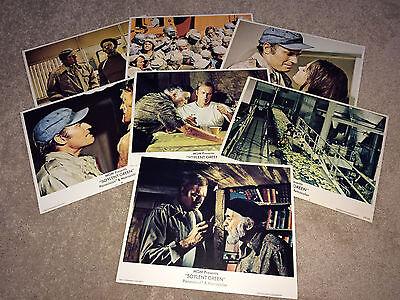 SOYLENT GREEN Movie Lobby Card Posters 1973 Charlton Heston Sci-Fi Horror