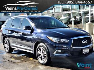 2016 Infiniti QX60 AWD| NAVI| LEATHER| 360 CAMERA| SUNROOF