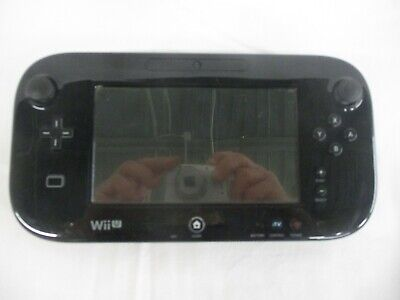 Genuine Nintendo Wii U GamePad Tablet Controller (WUP-010) - Black