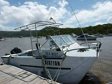 5m Webster Twinfisher aluminium boat Brooklyn Hornsby Area Preview