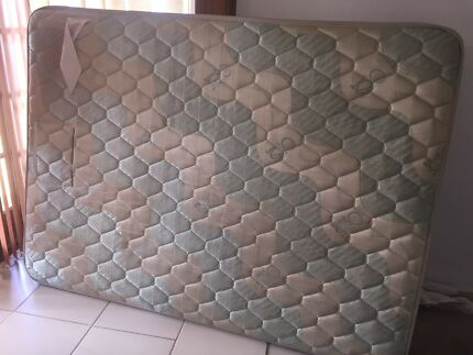 Double size mattress used