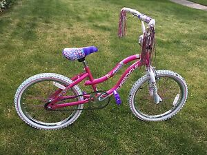 Supercycle Dreamweaver Pink Bike for girl age 6-9