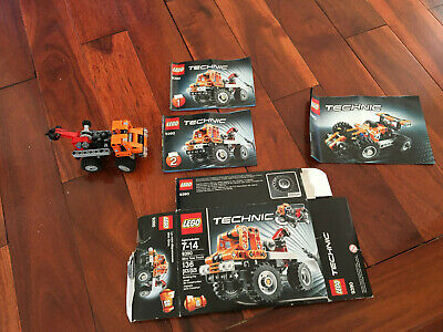 LEGO Technic 9390 Mini Tow Truck / Race Car 2 in 1 Complete w. Box and manual