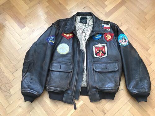 Blouson cuir avirex aviator vintage