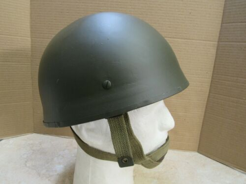 Post WW2 Belgian Paratrooper Helmet British Type Small Size 54cm 6 3/4 Original
