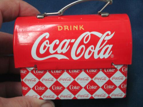 Coca Cola Mini Tin Lunch Box NEW