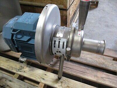 Apv Ss Sanitary Pump Dk 6000 With Motor  311100b New