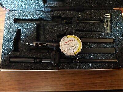 New Starrett 711gcsz .001 Last Word Dial Test Indicator W7 Accessories