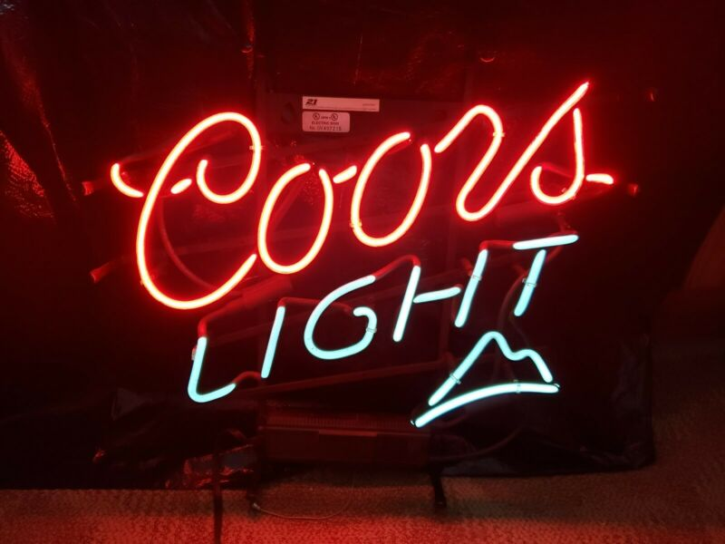 21 means 21 Coors neon light sign
