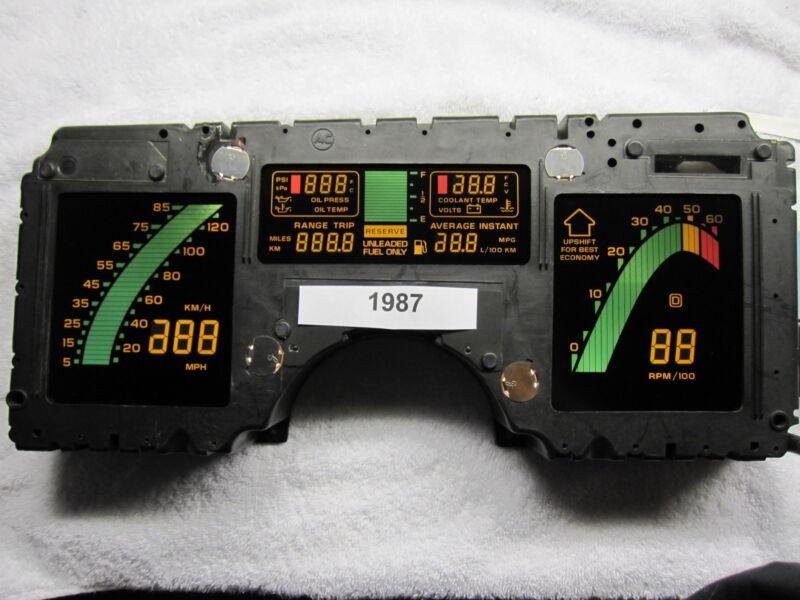 Corvette C4 digital dash instrument cluster Rebuilt 84 85 86 87 88 89 speedo