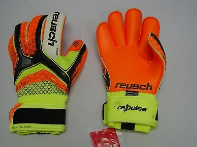 Reusch Repluse Soft Grip Finger Support Premium Strap Goalkeeper Gloves 3670822