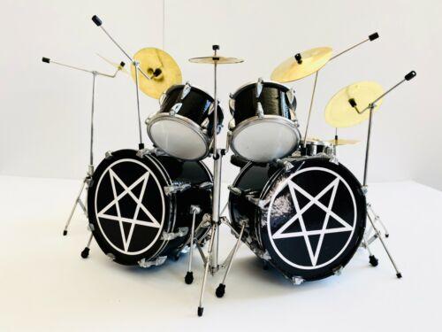 Motley Crue - Tommy Lee Shout at the Devil Drum Kit 1:4 Scale Miniature Drum Set
