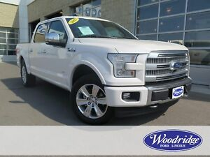 2017 Ford F-150 Platinum 3.5L V6, LEATHER, REMOTE START