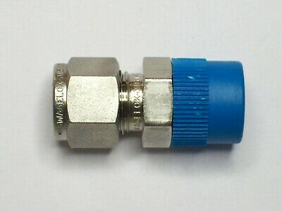 1- Swagelok Stainless Connector Fitting 38 Tube X 38 Male Npt Ss-600-1-6