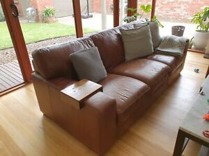 Bay Republic 3 seater leather couch