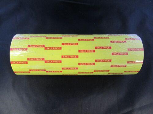 8,000 Yellow Towa (GL) Sale Price Labels-Speedy Mark-Halmark-Jolly-Hallo 2line