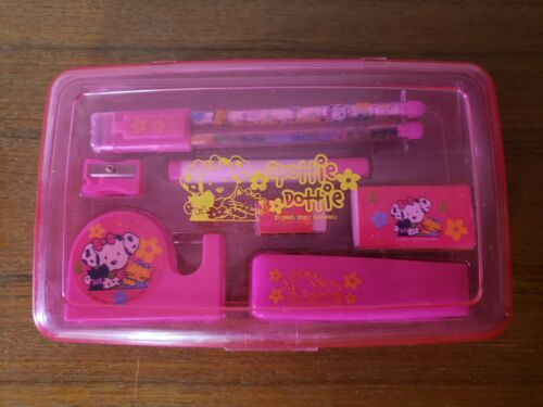Vintage Sanrio Spottie Dottie Stationary Set 2001 Japan Germany