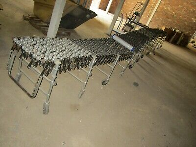 Nestaflex 275 Conveyor Gravity Compressed 2ft W X 32ft L Adjustable Height