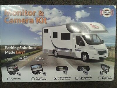 MOTORHOME REVERSE WHITE CAMERA SYSTEM / REAR VIEW MONITOR (7006C10W)