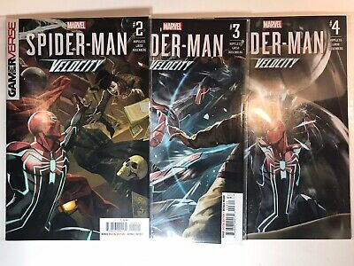 SPIDER-MAN VELOCITY COMIC LOT #2 #3 #4 MARVEL