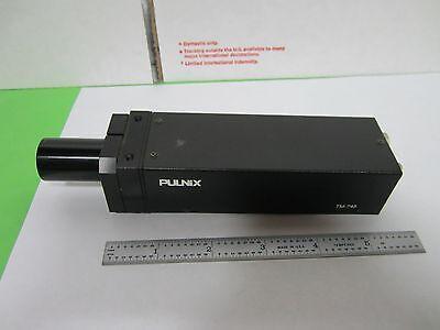 Microscope Inspection Video Camera Ccd Pulnix Tm-745 Optics As Is Binn4-16