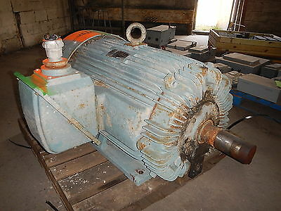 150 Hp Teco-west Ac Electric Motor 900 Rpm 449t Frame Tefc 575 V Eok