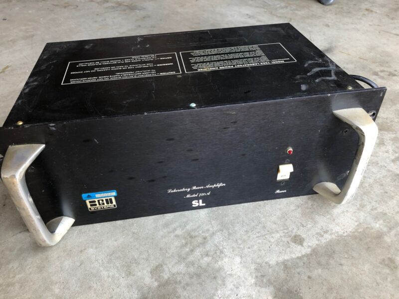 BGW Systems 750SL Laboratory Power Amplifier Stereo Amp