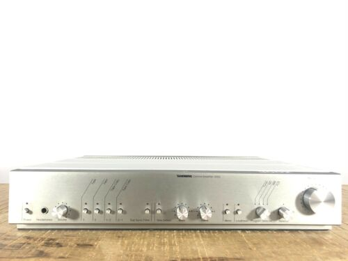 *Vintage Beauty* Tandberg 3002 control amplifier (1980)Phono - Audiophile preamp