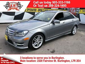 2012 Mercedes Benz C-Class 300, Navigation, Leather, Sunroof, AW