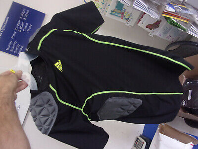 Adidas Padded Large Shirt Rib Cage Shoulder + Tail Bone Football Motor Cycle