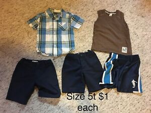 Size 5t boys clothing