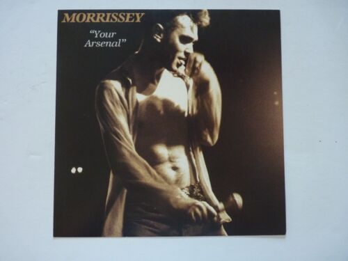 Morrissey Your Arsenal LP Record Photo Flat 12x12 Poster