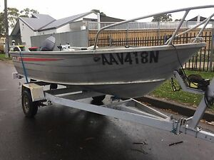 Tinny sae al 375 with a 25hp Yamaha Roselands Canterbury Area Preview