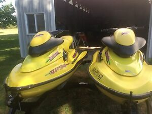2 seadoo xp with trailer (jetski)